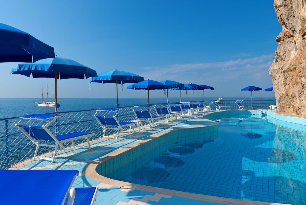 Hotelpool in Amalfi