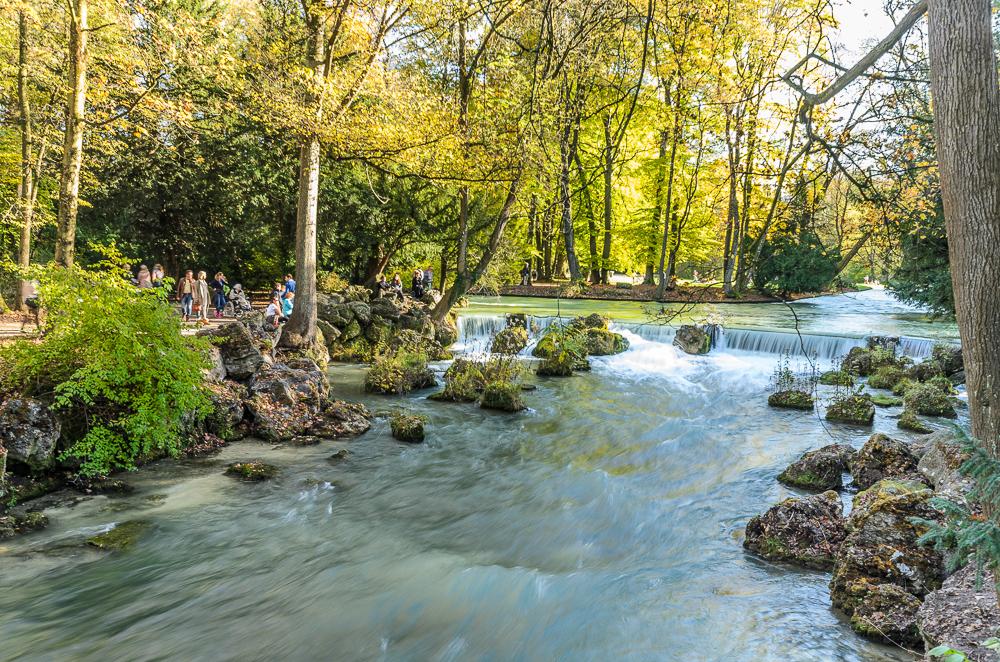 Englische Garten, Schwabinger Bach