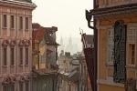 Prag am Morgen
