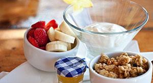 Frühstück im Jockey Club